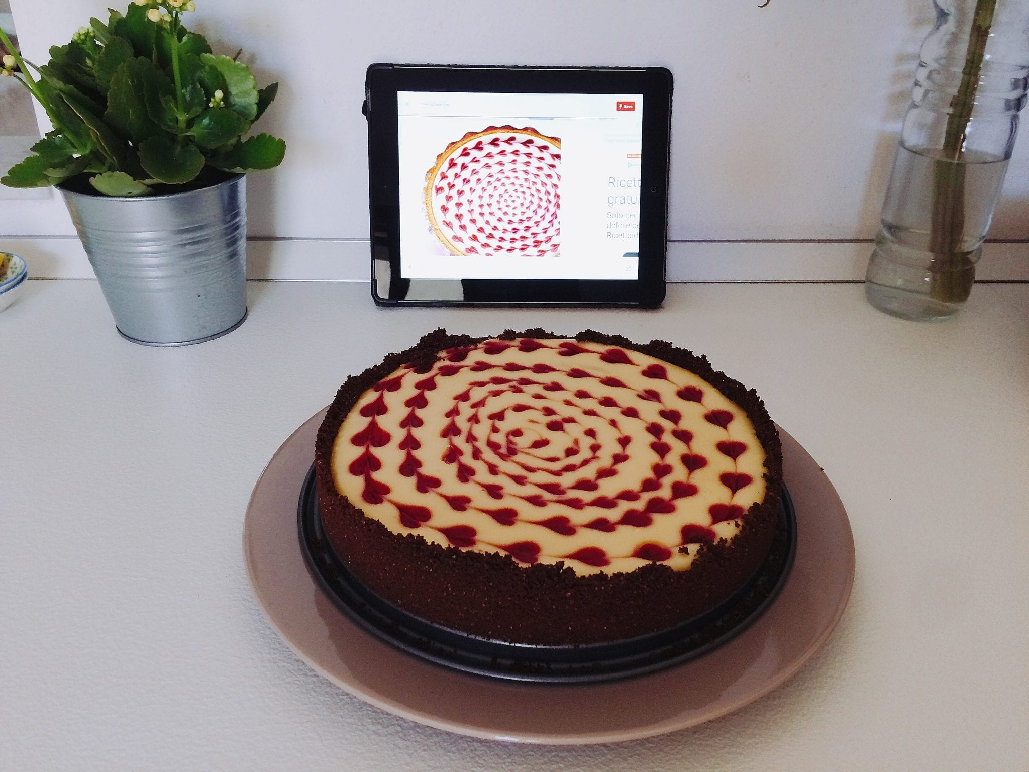 Cheesecake alle fragole - Le Plume - Bake challenge