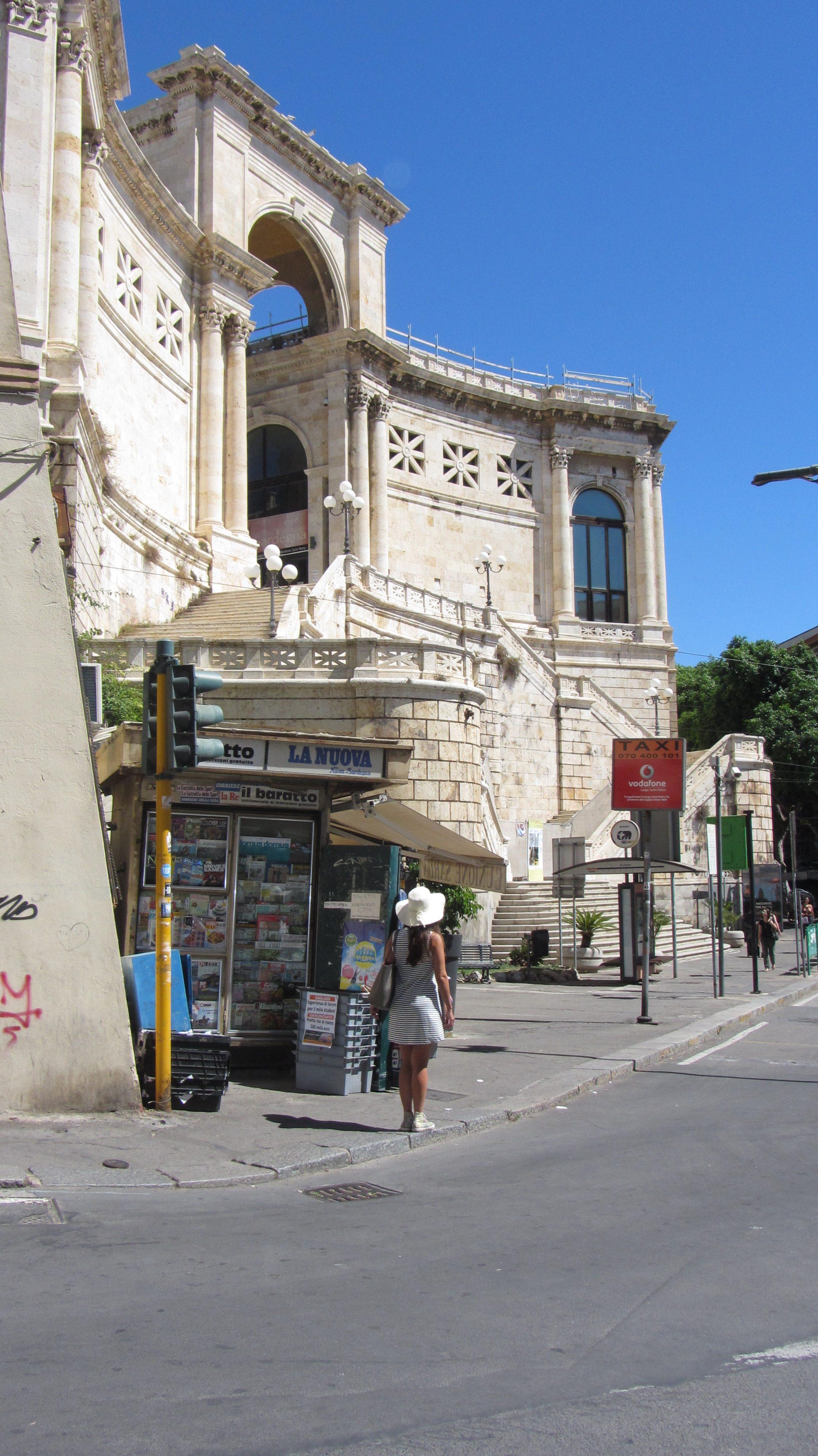 Bastione di Cagliari - Le Plume - city break