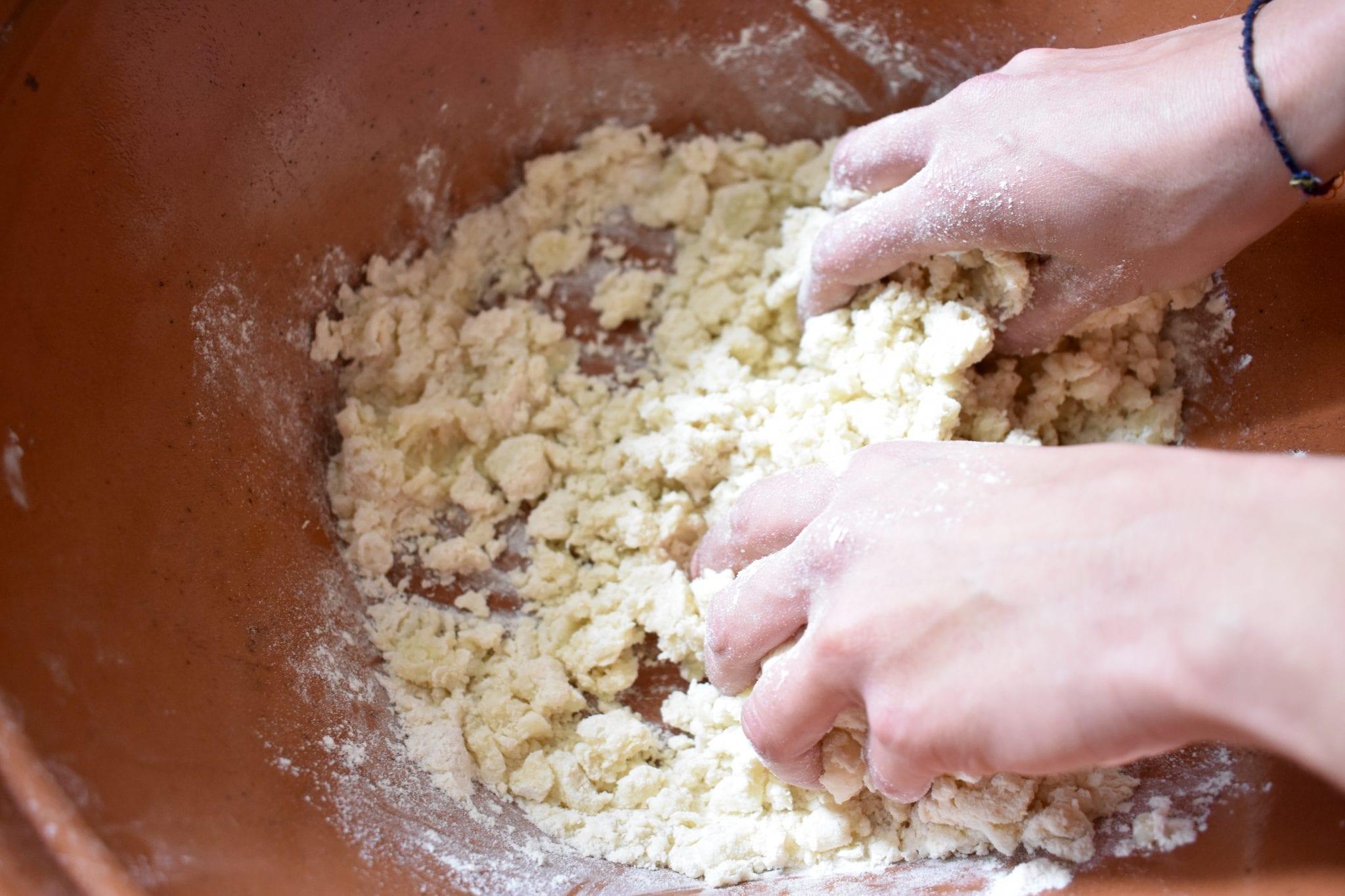 Impasto farina e patate_zeppole_le Plume