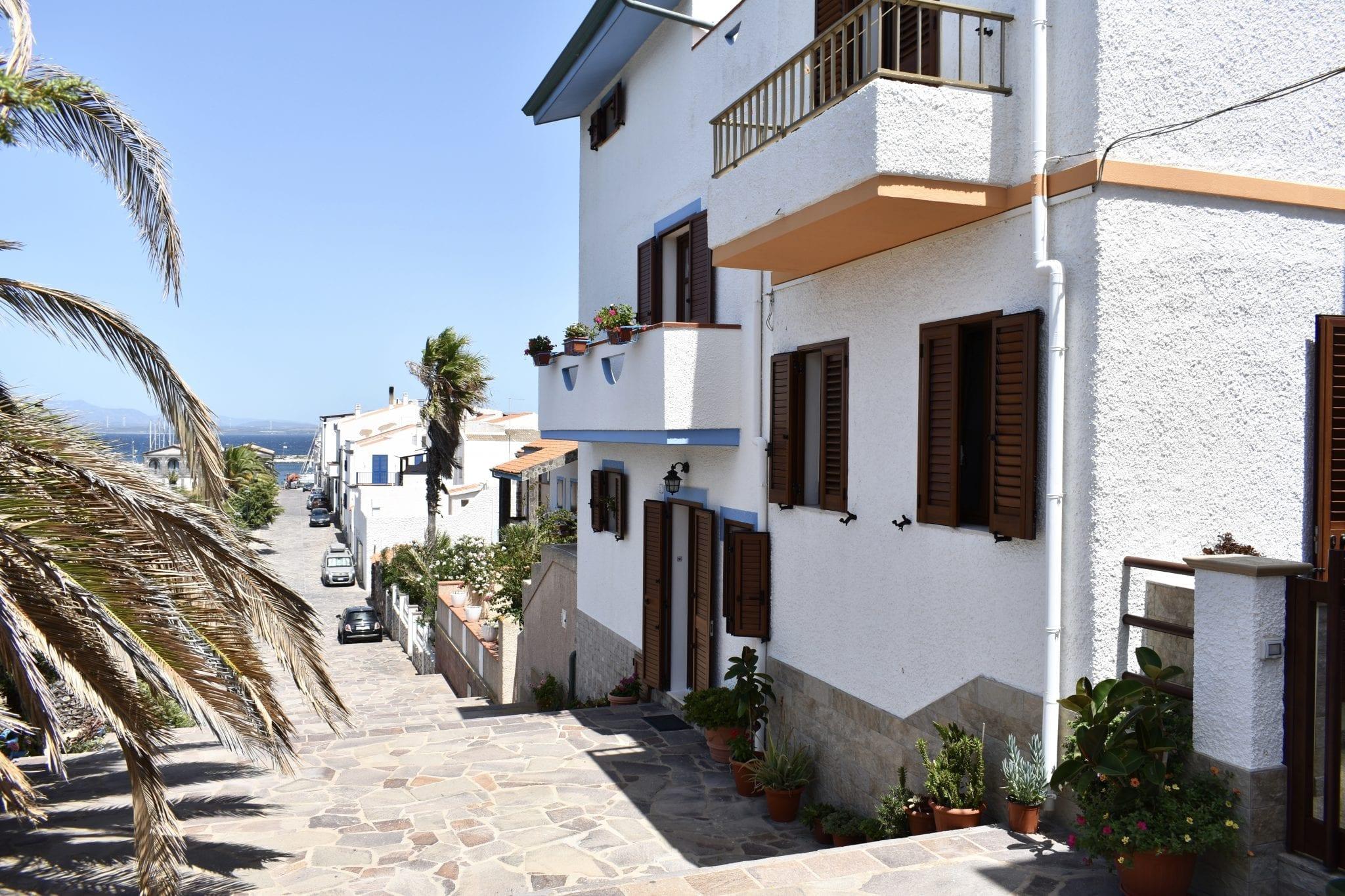 Calasetta - case fronte mare Le Plume