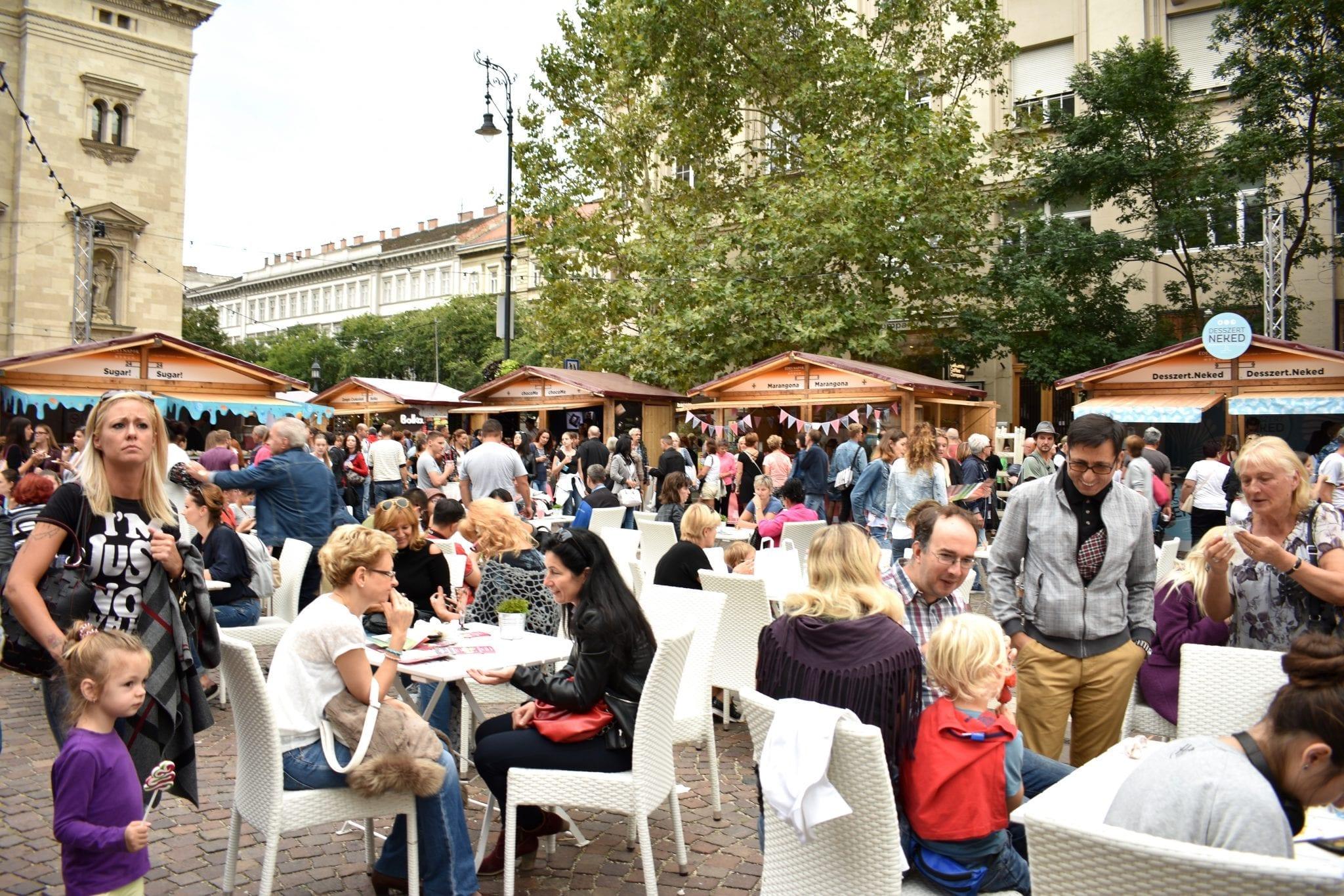 caffè all'aperto - Budapest - Le Plume