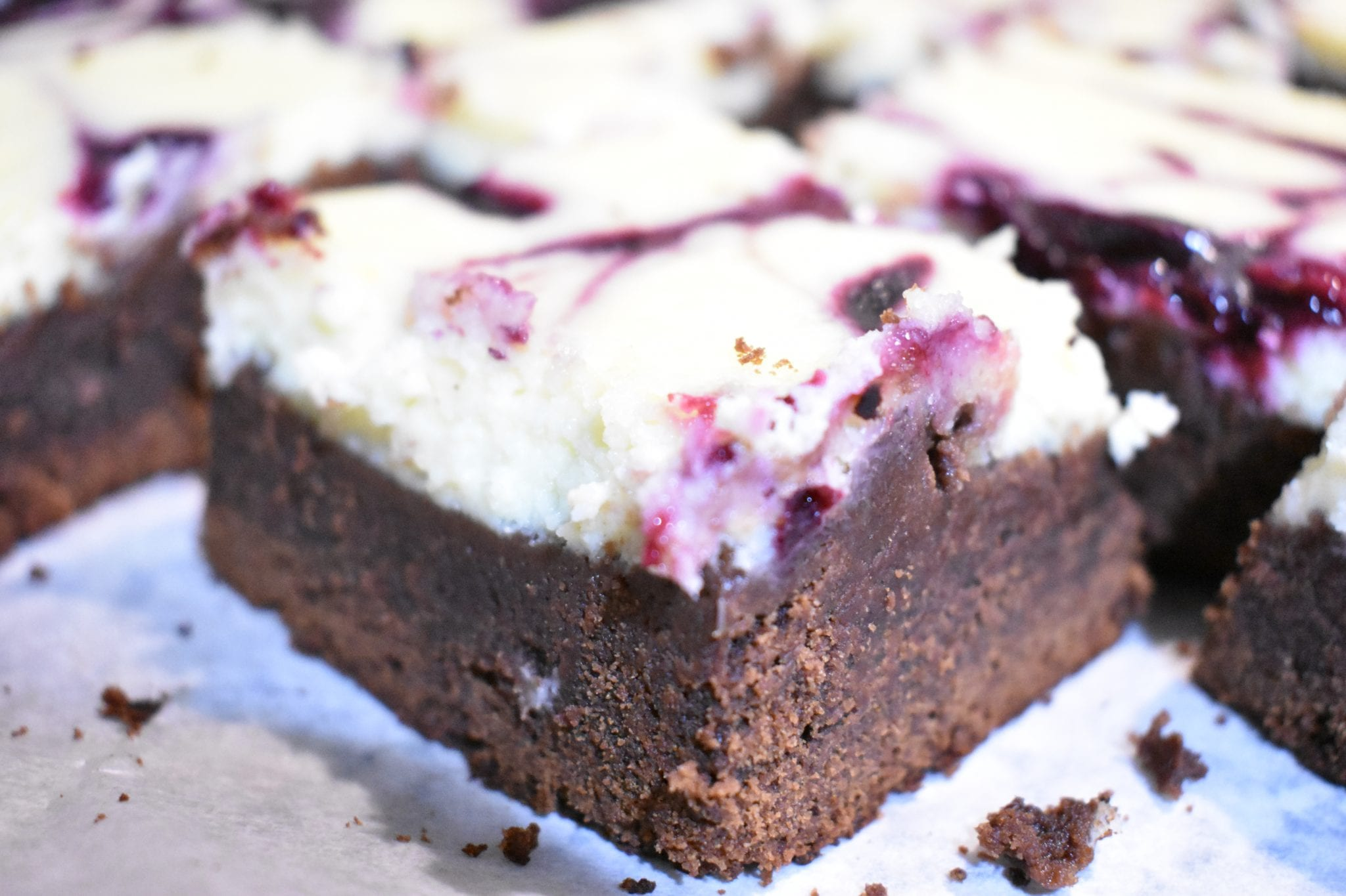 Brownies Cheesecake - Le Plume