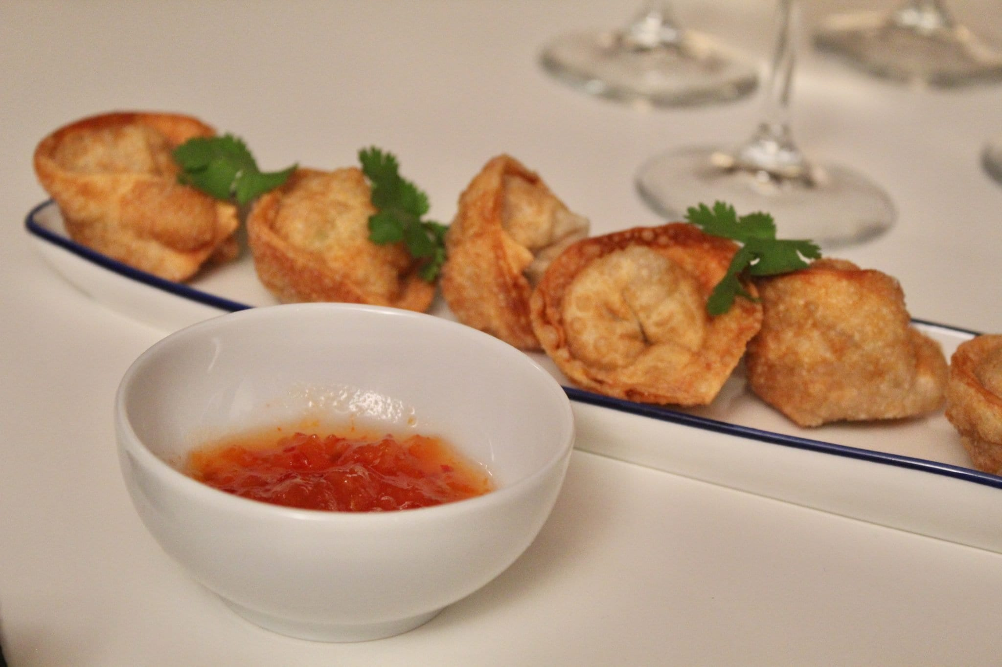 Wanton fritti - ravioli cinesi Le Plume