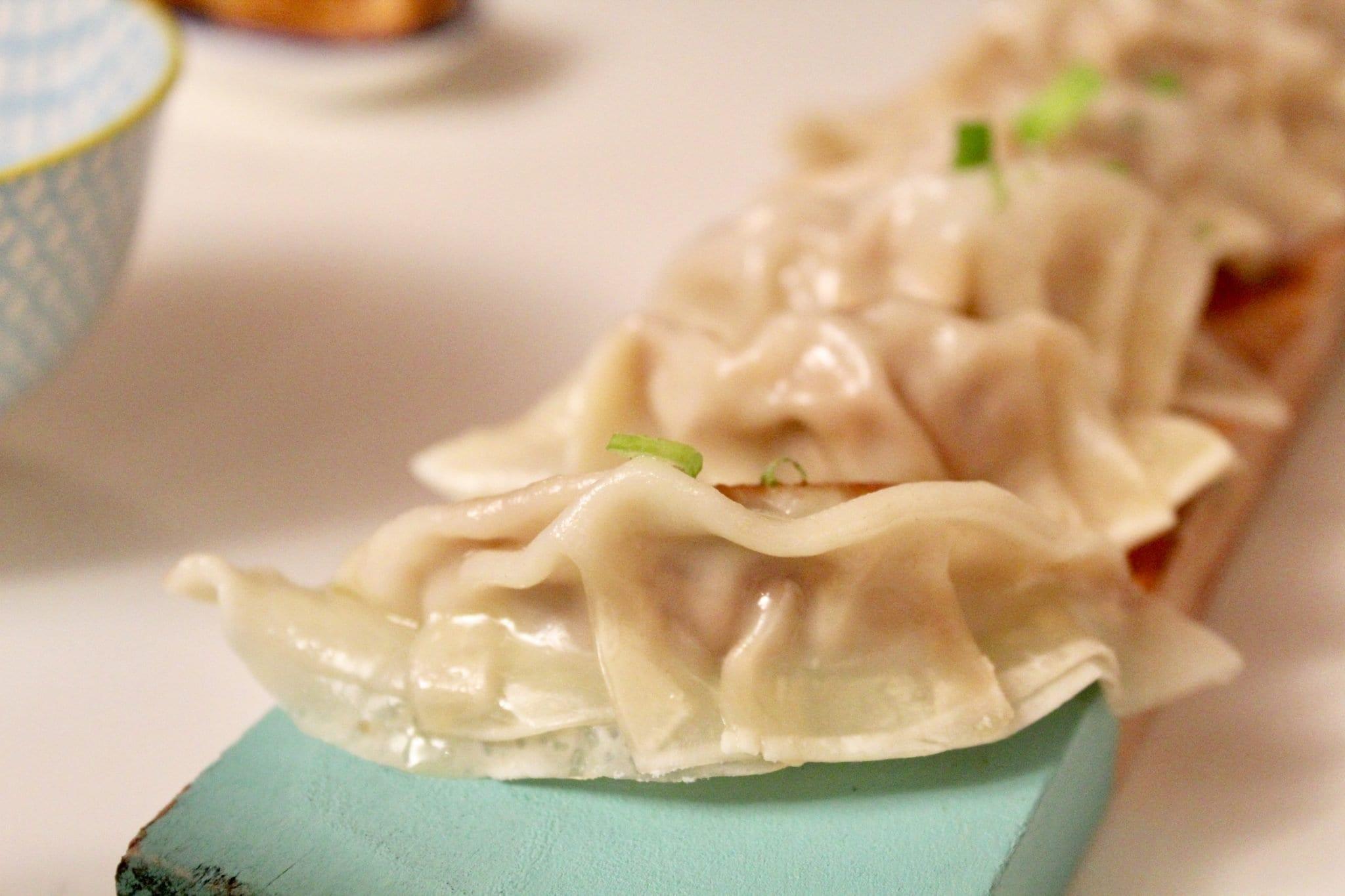 Gyoza - ravioli cinesi Le Plume