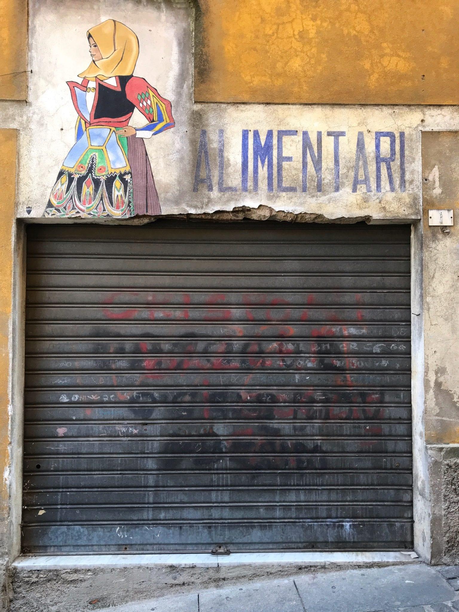 murales orgosolo - le plume