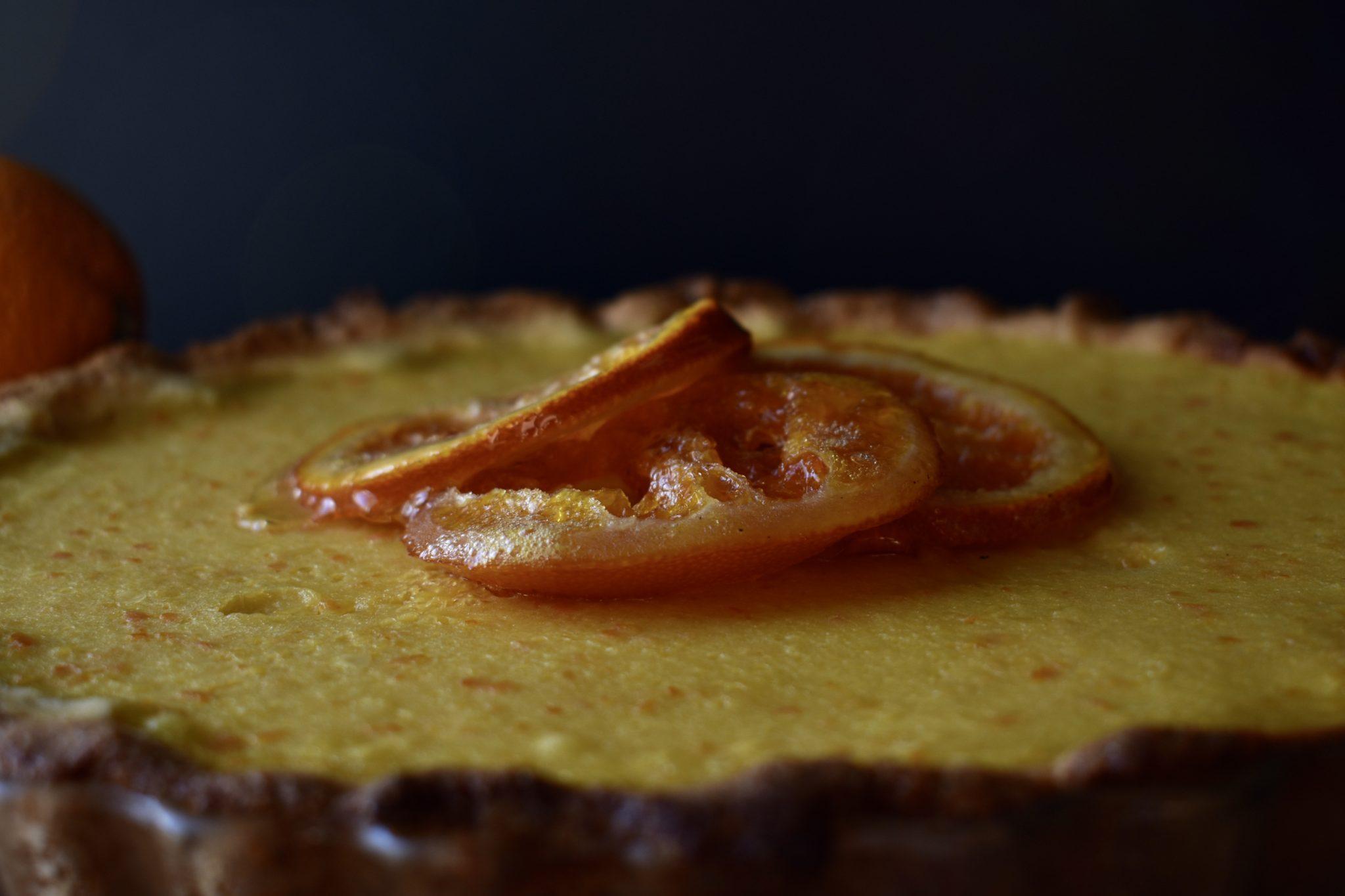 Crostata all'arancia - Le Plume