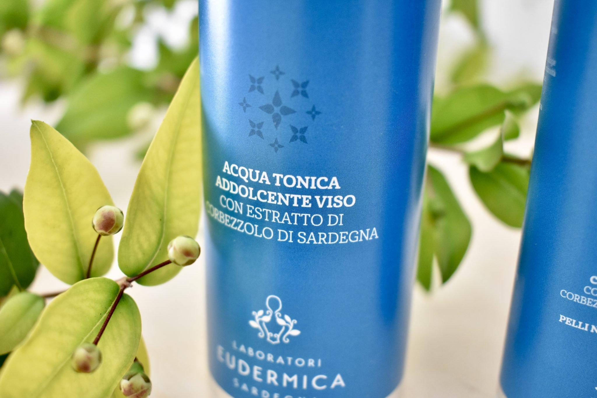 Acqua tonica - Laboratori eudermica - Le Plume